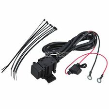 12v Motorbike Motorcycle Waterproof  USB Charger Power Socket Adapter Outlet