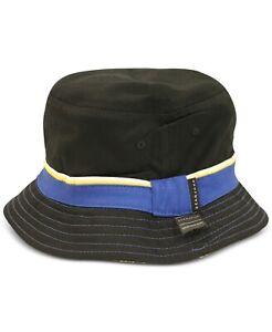 Sean John Men's Reversible City Print Bucket Hat SJMH0004MC Black