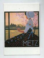 Carte postale METZ affiche par A. PELLON. Ed. Clouet  Mémoire d'un Mur