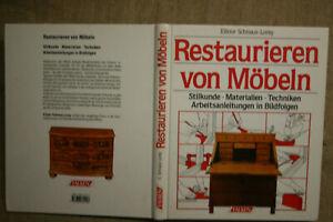 Fachbuch Möbelrestaurierung, Restaurator, Möbelbau, Möbeltischler, restaurieren