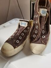Converse all star brown low top tennis sneakers shoes size Wom 6 Men 4