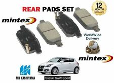 Para Suzuki Swift 1.6 Sport M16a 2011 - > Nuevo Posterior Freno De Disco almohadillas Set