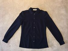 Tory Burch Navy Shirt, Tory Burch Shirt, Navy Shirt, Size 2US, Tory Burch