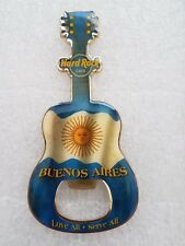 Hard Rock Cafe BUENOS AIRES BOTTLE OPENER MAGNET * VERY RARE*