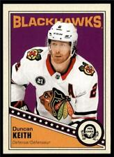 2019-20 UD OPC O-Pee-Chee Retro Base #139 Duncan Keith - Chicago Blackhawks