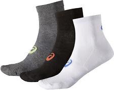 Asics Quarter (3 Pack) Running Socks - Multi