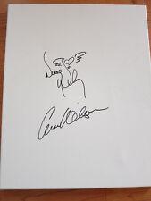 Heart signed drawing 16x20 board coa + Exact Proof! Ann Wilson Nancy Wilson auto