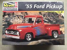 Revell Monogram 1955 Ford Pickup Kit # 85-2971 Factory Sealed 1:24 10+