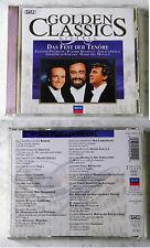 GOLDEN Classics la festa delle Tenors Pavarotti, Domingo,... 1996 Decca CD ORO