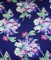 Love midnight large flowers floral Amy Butler Rowan fabric