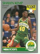 SHAWN KEMP 1990-91 HOOPS #279 ROOKIE CARD SEATTLE SUPERSONICS