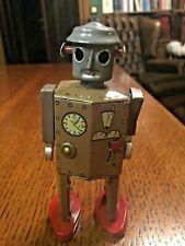Vintage tin toy original Atomic Robot Man, 1940s, Japan