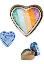 Makeup Revolution MERMAID'S HEART Highlighter Pastel Gold 10g New Free Postage
