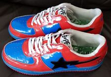 RARE BATHING APE MARVEL COMIC SPIDERMAN COLLECTABLE TRAINERS MENS SHOE SIZE UK11