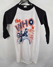3e2dde5eb4f7 Vintage 1980 I Survived The Who T-Shirt Los Angeles Forum The Who Cares XL