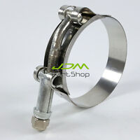 T-Bolt Heavy Duty Stainless Steel Hose Clamps For Silicone Hose Intercooler Pipe