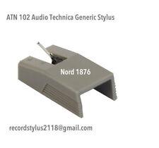 Audio Tech+ATN 102C -Nord 1176 Diamond tip+AKAI RS7+Generic German Made