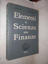 ELEMENTI DI SCIENZA DELLE FINANZE Marco Fanno Costanza Costantino Lattes 1978 di
