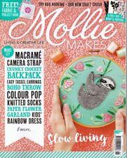 Mollie Makes Magazine Issue 87 January 2018 Let Love Bloom Hoop Kit Crochet