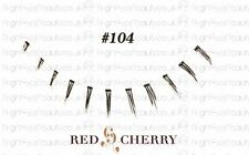 style #104 Red Cherry 100% Human Hair Ultimate False lashes bottom / lower