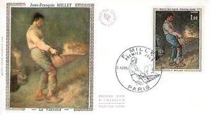 FDC - FRANCE 1672 - JEAN-FRANCOIS MILLET - LE VANNEUR