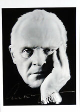 Anthony Hopkins ++ Autogramm ++ Hannibal ++ Beowulf ++ Hitchcock ++ Der Grinch