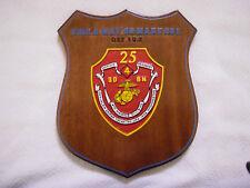 USMC Operation Enduring Freedom Afghanistan 25th Marine Corps Regiment Plaque