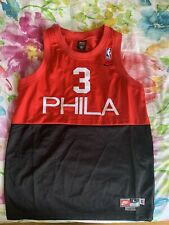Nike Allen Iverson Phila Youth Jersey Large +2 Length Throwback sewn RARE 76ers