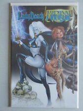 Lady Death/Medieval Witchblade #1 DF Wizard Blue Foil Edition Ltd. to 999 W/COA