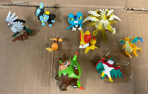 Pokemon Figure Lot Of 9