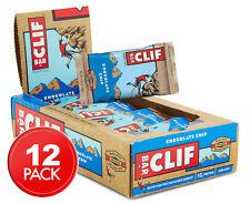 12 x Clif Bar Chocolate Chip Energy Bar 68g