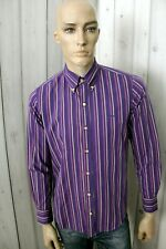 HARMONT & BLAINE Camicia Uomo Shirt Cotone Casual Manica Lunga Chemise Taglia M