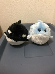 Ty beanie babies ballz- Whale and Dolphin