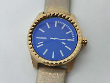 Diesel Kray Kray Women's Watch With Gold Tone Leather Strap DZ5460