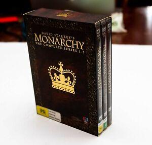 David Starkey's Monarchy The Complete Series 1-3 DVD