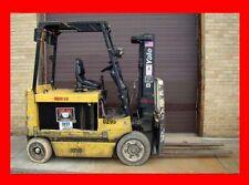 Yale 8000 Pound Capacity Forklift, Model Ecr080