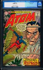 Atom 1 CGC 9.0 Old Labl Silver Age Key DC Comic Pacific Coast Pedgiree IGKC L@@K