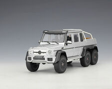Welly 1:24 Mercedes Benz G63 AMG Diecast Metal Model Car new in box silver