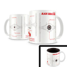 Star Wars TIE Fighter Black Squadron Blueprint Ceramic Mug