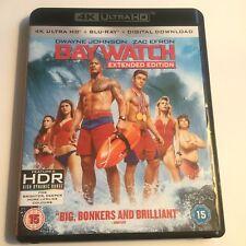 2017 Baywatch 4K UHD Blu-Ray Film Crime Sea Surf Movie Dwayne Johnson