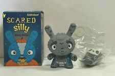 """Kidrobot Scared Silly The Bots Grim Reaper Grampy w/Ghost Dunny 3"""" Vinyl Figure"""