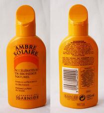 VERY RARE ORIGINAL VINTAGE 90'S AMBRE SOLAIRE SUNTAN OIL 125ml GARNIER NEW NOS !