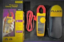 Fluke 323 True-RMS Clamp Meter AC current to 400 amp AC & DC voltage to 300v NEW