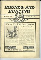 NL-075 Hounds and Hunting Magazine Eight 1935 Issues Beagles Dogs Canine