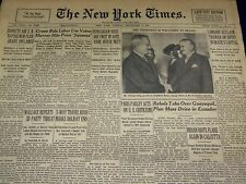 1947 SEPTEMBER 2 NEW YORK TIMES - REBELS TAKE GUAYAQUIL - NT 3428