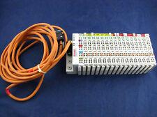 BECKHOFF, BK8000 + KL1104(7) + KL9010 + KL2114(7) + KL9100