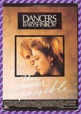 """Tarjeta Postal Cartel de Película - DANCERS """"UN AMOR IMPOSSIBLE"""""""