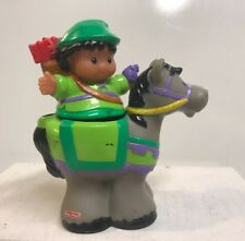 Fisher Price Little People Robin Hood With Horse Figures