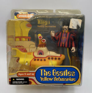The Beatles Yellow Submarine Ringo with Yellow Submarine Spawn MacFarlane 2004