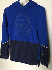 Under Armor SC Youth Boys Blue Logo Hoodie Long Sleeve Pullover XL Extra Large